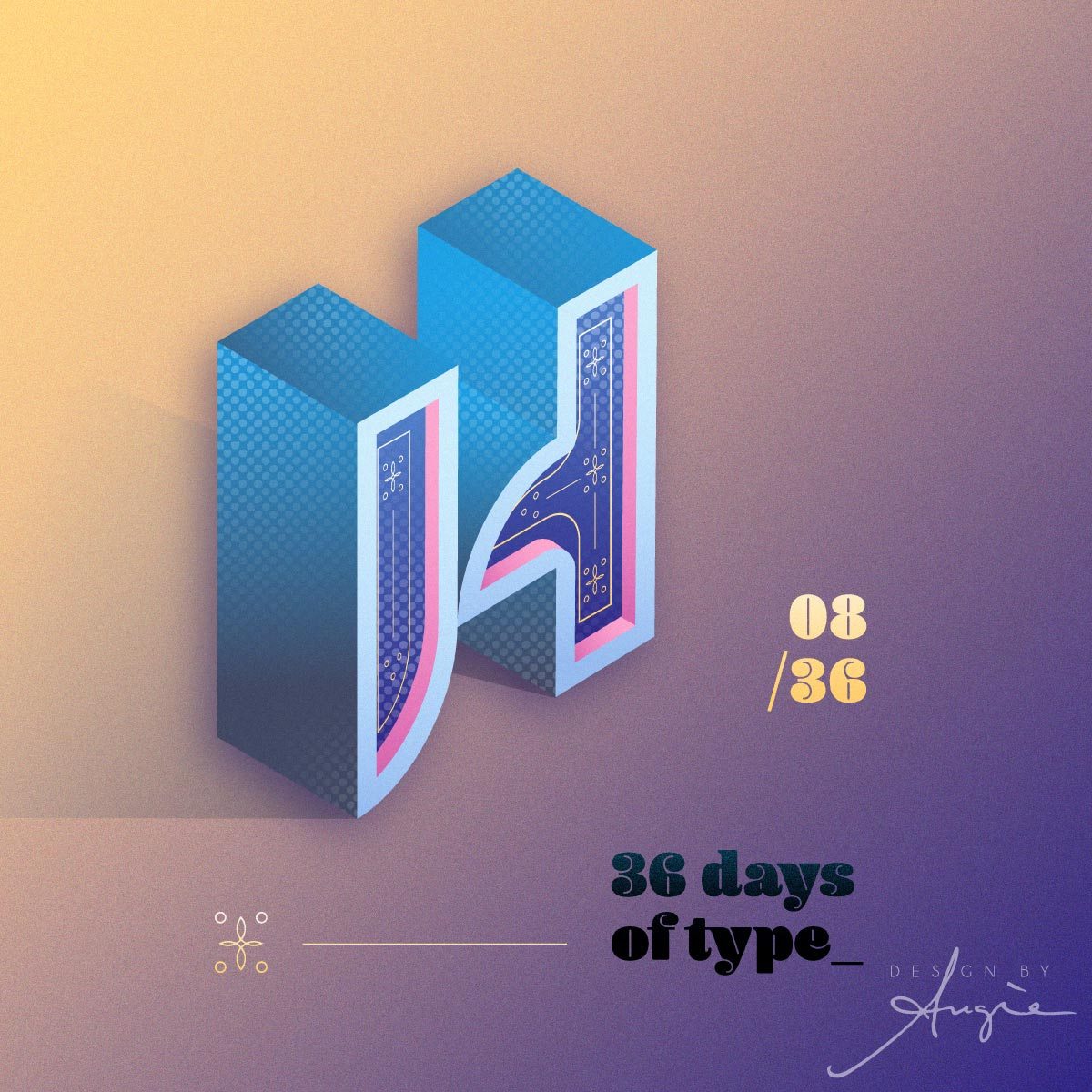 36 Days of Type 2020 - H