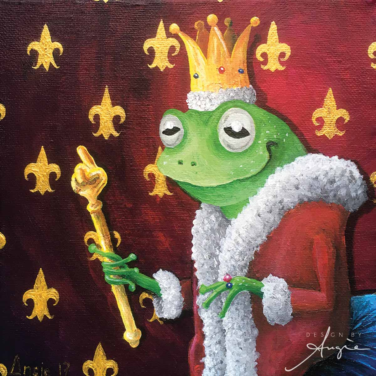 The Frog King Painting